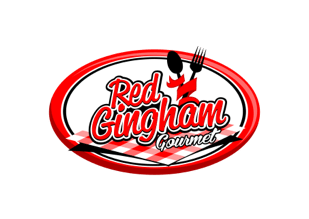 Red Gingham Logo
