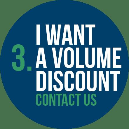 I Want a Volume Discount