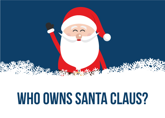 BrandPDQ Explores Who Owns Santa Claus